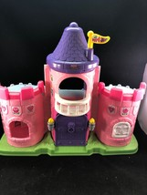 Fisher Price Little People Lil Kingdom Castle Princess Pink Palace - $11.83