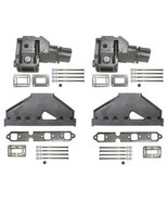 Exhaust Manifold Kit for Volvo 4.3L 1994 and Newer using 7.75 Inch Riser - $679.95