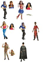 Girls DC Comics Batgirl Wonder Woman Squirrel Girl Superman Faora Wakund... - $7.92+