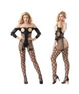 Cytherea Women Sleepwear Fishnet Stocking Lingerie Sexy Nightwear Bodysu... - $8.50
