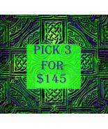 FRI-SUN PICK 3 FOR $145 DOES NOT INCLUDE NO DEALS & MYSTICAL TREASURES - $0.00