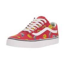 VANS Pool Vibes Parrots Palm Trees Pools Red Canvas SK8 Shoes M-9 / W-10... - $59.99