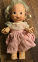 "Ideal Vintage 14"" Woopsie 1978 Doll Squeaks & Hair Moves B-66 - $16.82"