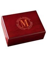 JDS Marketing Personalized Cherry Finish R Cigar Humidor - $54.32