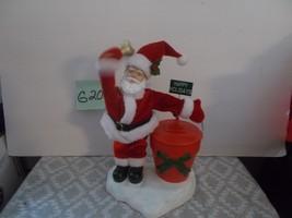 Vintage Christmas Musical Santa Bank - $29.99