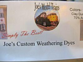 Joe's Model Trains #350-112 Joe,s Custom Weathing Dyes Kit (6 Colors) image 3