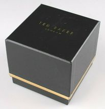 Ted Baker London TE50013007 Hellbraun Echtleder Band & Rose-Gold-Tone Uhr Nwt image 7