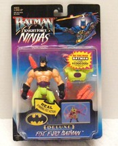 Nip 1998 Batman Knight Force Ninjas Deluxe Fist Fury Batman - $12.99