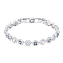 Authentic Swarovski Angelic Square Blue Bracelet - RRP $149 - $111.45