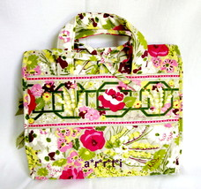 Vera Bradley Hanging Organizer Jewelry Makeup Case Make Me Blush New wit... - $48.00