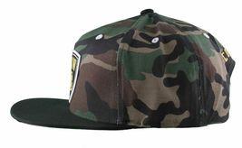 KR3W Men's Camo FTW Fu$k the World Blood and Concrete Snapback Baseball Hat NWT image 5