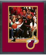 Josh Richardson 2018-19 Miami Heat -11x14 Team Logo Matted/Framed Photo - $43.55