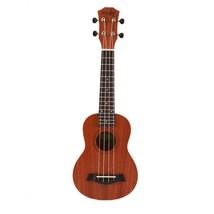 Ukulele Guitar 21 Inch Acoustic Soprano String Instrument Wood Guitarist... - $49.99