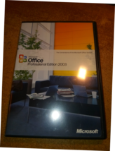 Microsoft Office Professional Edition 2003 Full software - $39.93