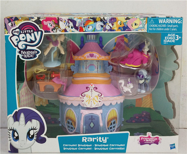 Primary image for My Little Pony Friendship Magic Collection Rarity's Carousel Boutique