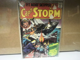 L5 Dc Comic Capt. Storm Issue 17 JAN-FEB 1967 In Good Condition In Bag - $13.77