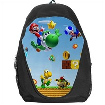 backpack school bag  super mario yoshi - $39.79