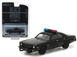 1976 Dodge Coronet Black Bandit Police 1:64 Diecast Model Car by Greenlight - $14.27
