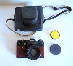 Zenit 11 Export Film Camera, Helios 44-2 58mm Lens, New Leather + Case, ... - $79.00