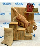 """Lowell Davis """"On The Move"""" Figurine 1982 Schmid 1166/4000 Stairs 225206 ... - $168.28"""
