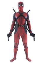 Deadpool Costumes Adult Unisex Halloween Cosplay Full Bodysuit Superhero... - $89.99+