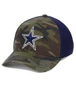 Dallas Cowboys NFL DCM Grunt Camouflage L/XL Flexfit Fitted Cap Hat $30 - $28.49