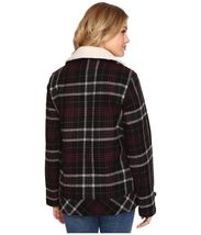 New Vans Womens Spirit Animal Double Breasted Wool Blend Casual Jacket XS $130 image 3