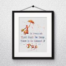 Bert art, Disney Poster, Disney Painting, Disney Art Print Mary Poppins art - $3.50