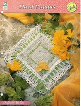 Crochet Pattern - Daffodil Trellis - Floral Beauties - House Of White Birches - $1.97
