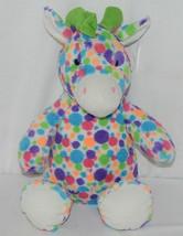 Fiesta A49886 Mod Squad 18 inch Multi Colored Polka Dots Cuddle Giraffe image 1