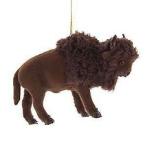 Furry Buffalo Ornament w - $16.99