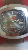 NOS Vintage Astromatic Sagittarius Sign Automatic Watch 1970 men Big For... - $237.47 CAD