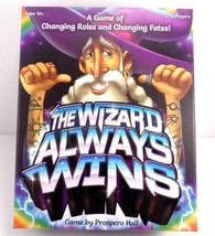 The Wizard Always Wins board Game Prospero Hall Change Roles And Fates B... - $19.79