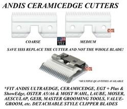 Andis CeramicEdge Detachable Blade CERAMIC CUTTER Fit Oster A5 A6 76 97 ... - $18.90+
