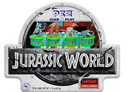 PEZ Candy Jurassic World Click & Play Gift Tin, 14 Ounce - $39.59