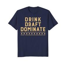 Best Style - Fantasy Football Champion - Drink Draft Dominate T Shirt Te... - $19.95+