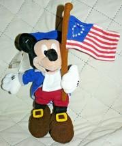 "Disney Store Mini Bean Bag Spirit of '76 Mickey 8"" - $15.50"
