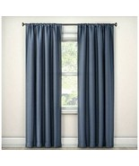 """Eclipse Lorcan Blackout Curtain Panel Blue (52""""x108"""") One Panel - $40.00"""