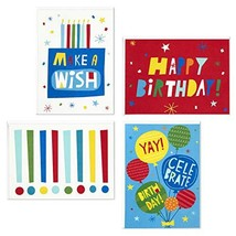 Hallmark Birthday Cards Assortment, Make A Wish 48 Cards with Envelopes