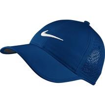 New! Deep Bl Nike Women Ultralight Perforated Adjustable HERITAGE86 Golf Hat/Cap - $54.33