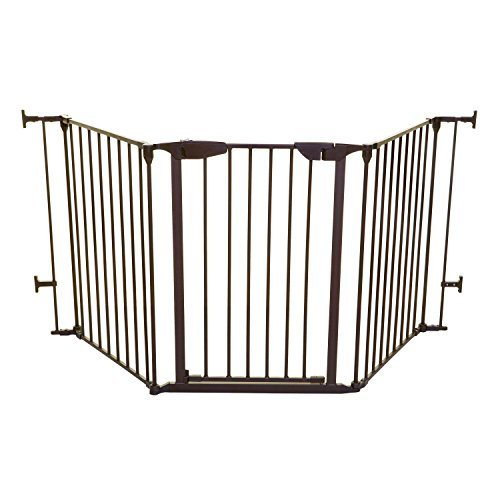 Dreambaby Newport Adapta Baby Gate - Use at Top or Bottom of Stairs - for Straig