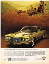 Vintage 1972 Magazine Ad Cadillac One Reason For Choosing Nobody Talks About - $5.93
