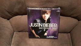 JUSTIN BIEBER*Backstage Pass Board Game  NEW  - $23.11