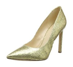 Nine West Tatiana, Women's Closed-Toe Pumps Gold (Platino) 4 UK - $121.00