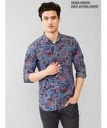 New Gap Men Printed Chambray Shirt Variety Sizes - $33.65