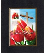 He is Risen! - 2 Corinthians 5:15. . . 8 x 10 Inches Biblical/Religious ... - $11.14