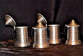 Ale Drinking Mugs AA18 - 1034 Vintage Set of 4 image 2