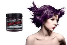 Manic Panic Semi-Permament Haircolor Deep Purple 4 Ounce Jar (118ml) - $10.40