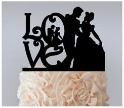 Ca050 Wedding,Birthday Cake topper,Cupcake topper, cinderella dancing : 11 pcs - $20.00
