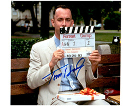 TOM HANKS  Authentic Original  SIGNED AUTOGRAPHED PHOTO w/ COA 505 - $105.00